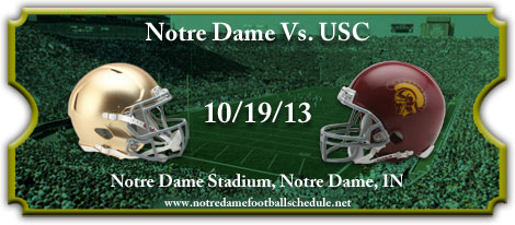 Notre Dame Fighting Irish vs. USC Trojans Tickets