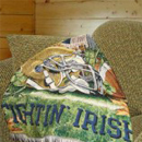 Notre Dame Fighting Irish Blankets, Bed and Bath Products