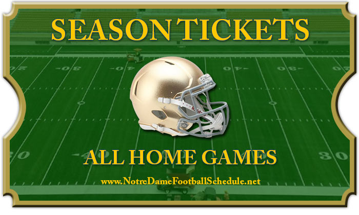 Notre Dame Season Football Tickets