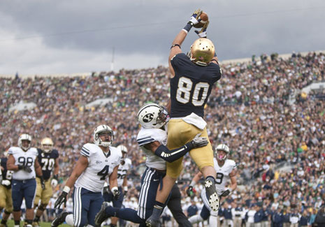 ND vs BYU Eifert Catch