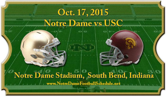 2015 Notre Dame vs USC