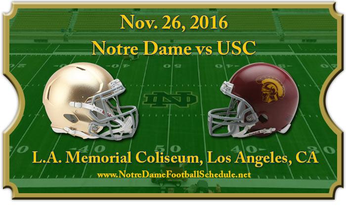 USC Trojans vs. Notre Dame Fighting Irish Tickets