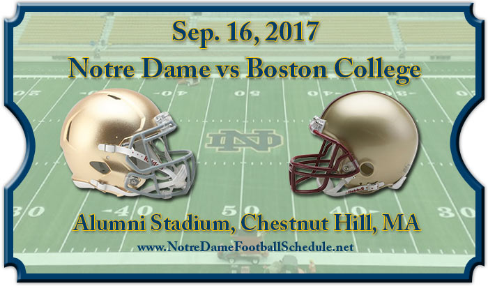 Boston College Eagles vs. Notre Dame Fighting Irish Tickets