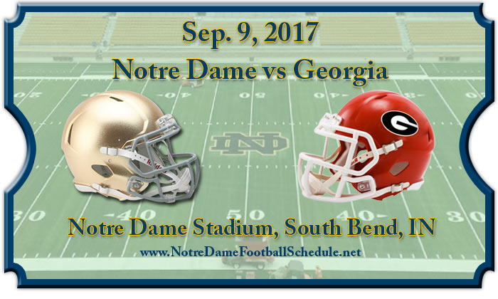 Notre Dame Fighting Irish vs. Georgia Bulldogs Tickets