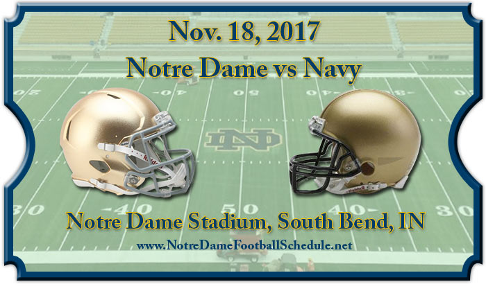 Notre Dame Fighting Irish vs. Navy Midshipmen Tickets