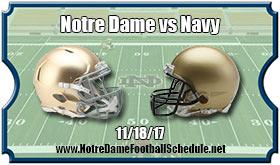 Notre Dame Fighting Irish vs. Navy Midshipmen