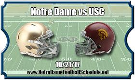 Notre Dame Fighting Irish vs. USC Trojans