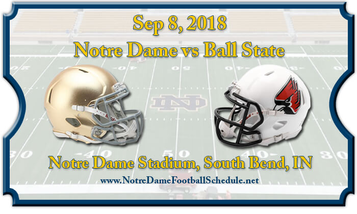 Notre Dame Fighting Irish vs Ball State Cardinals Football Tickets