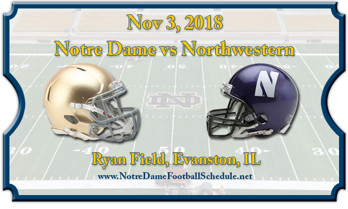 Notre Dame Fighting Irish vs Northwestern Wildcats Football Tickets