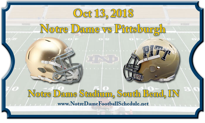 Notre Dame Fighting Irish vs Pittsburgh Panthers Football Tickets