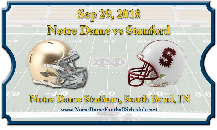 Notre Dame Fighting Irish vs Stanford Cardinal Football Tickets